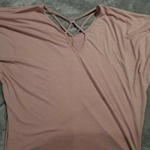 Umgee USA Blush pink blouse